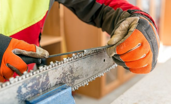 How to install a chainsaw chain and what you should pay attention to how to install a chainsaw chain correctly and safely greentooth Images