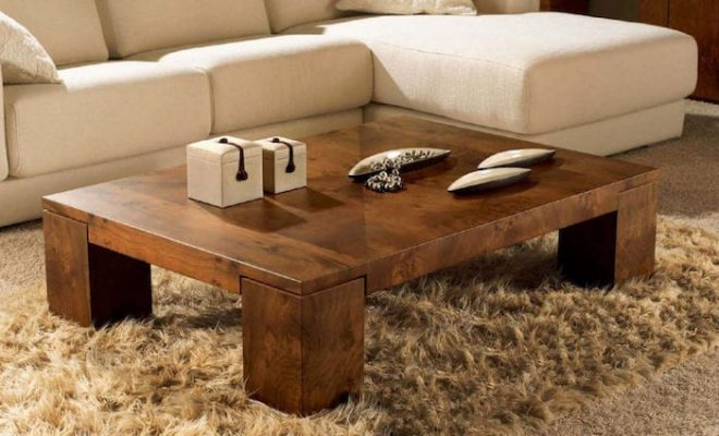 DIY Coffee Table: Ideas And Implementation