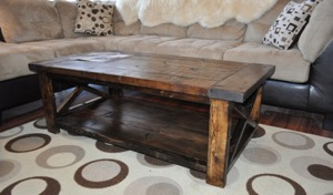 Rustik coffee table
