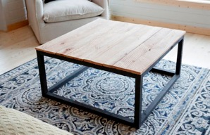 DIY projects coffee table